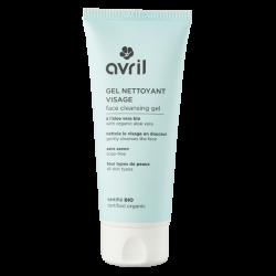 Gel nettoyant visage 100 ml certifié Bio