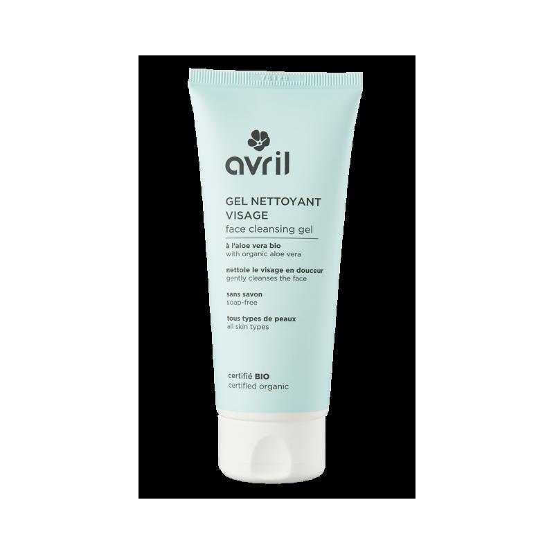 Face cleansing gel 100 ml certified organic