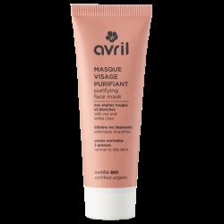 Masque visage purifiant 50 ml certifié Bio