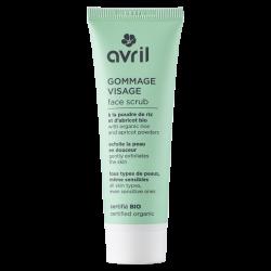 Facial scrub 50 ml certified bio