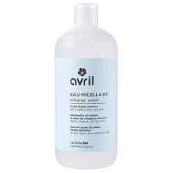 Micellar water 500 ml certified Bio