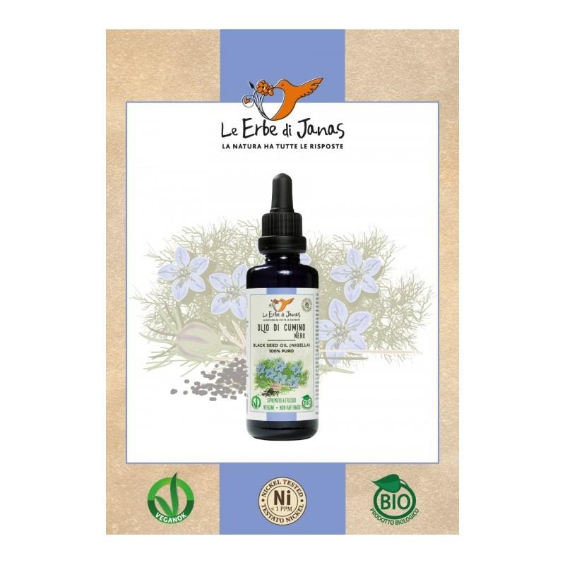 Virgin Oil of Black Cumin (nigella) 50 ml certified Bio