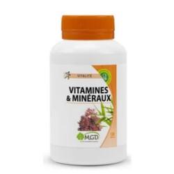 Complexe Vitamines et minéraux 120 Gélules