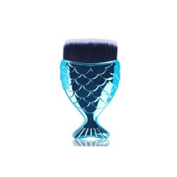 Blue mermaid brush