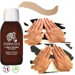 Zebratan 125ml Beige Braun