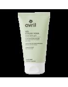 Descubra la gama de cosméticos, incluyendo la marca Avril, que ofrece una gama de productos orgánicos certificados hechos en Francia.